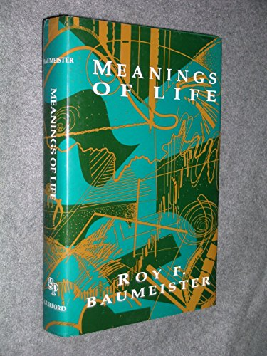 9780898627633: Meanings of Life