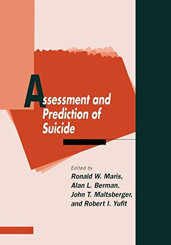 9780898627916: Assessment and Prediction of Suicide