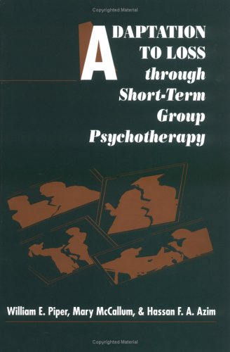 9780898627961: Adaptation to Loss through Short-Term Group Psychotherapy