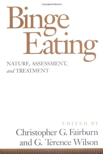 9780898628586: Binge Eating: Nature Assessment & Treatment: Nature, Assessment and Treatment