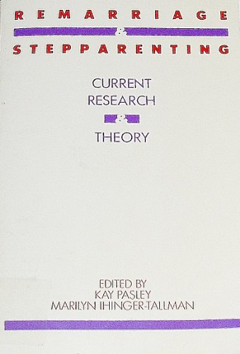 9780898629224: Remarriage and Stepparenting: Current Research and Theory