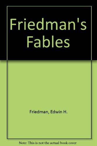 Friedman's Fables: (Audio version) (0898629675) by Friedman, Edwin H.