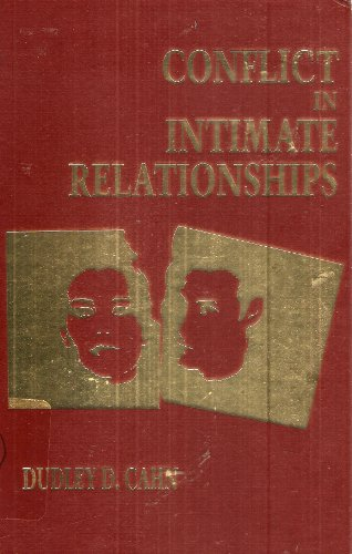 9780898629750: Conflict In Intimate Relationships (The Guilford Series on Personal Relationships)