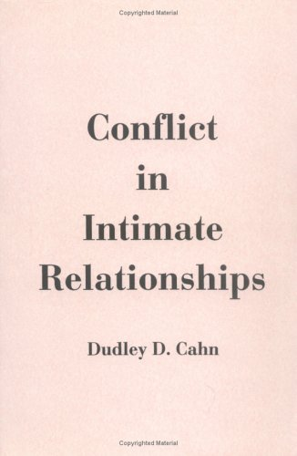 9780898629828: Conflict In Intimate Relationships (Guilford Series on Personal Relationships)