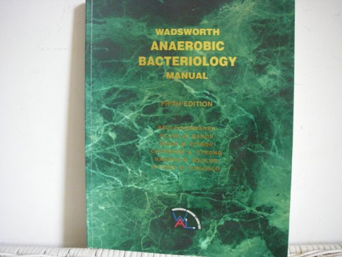 9780898631708: Wadsworth Anaerobic Bacteriology Manual