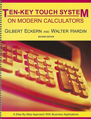 9780898632194: The Ten Key Touch System on Modern Calculators