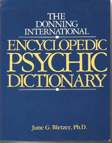 9780898653717: Donning International Encyclopaedic Psychic Dictionary