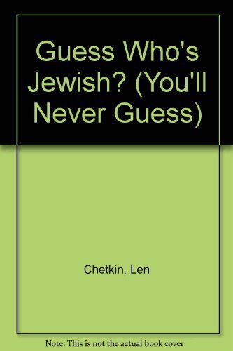 9780898654035: Guess Who's Jewish? (You'll Never Guess)