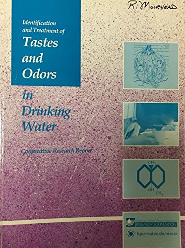 9780898673920: Identification and Treatment of Tastes and Odors in Drinking Water (Cooperative research report)