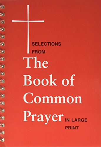 9780898690651: Selections from the Book of Common Prayer/Large Print