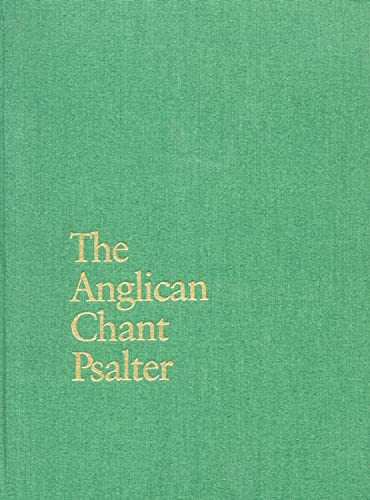 9780898691351: The Anglican Chant Psalter