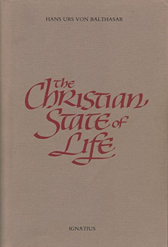 9780898700220: Christian State of Life