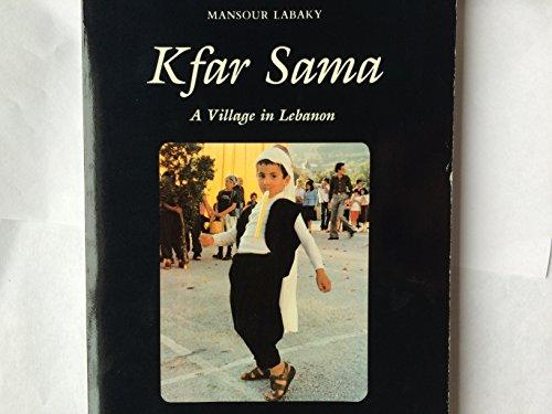 9780898700626: Kfar Sama, a village in Lebanon