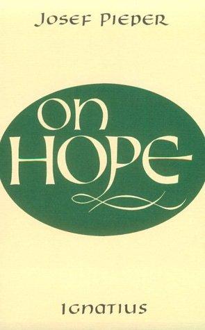 9780898700671: On Hope
