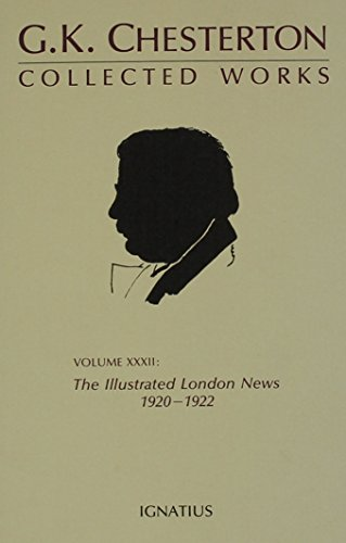 9780898702446: Collected Works of G.K. Chesterton: The Illustrated London News, 1920-1922