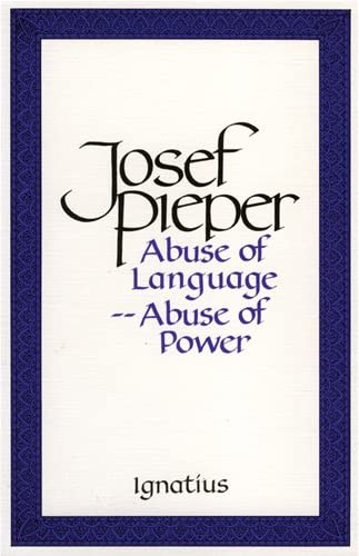 9780898703627: Abuse of Language Abuse of Power