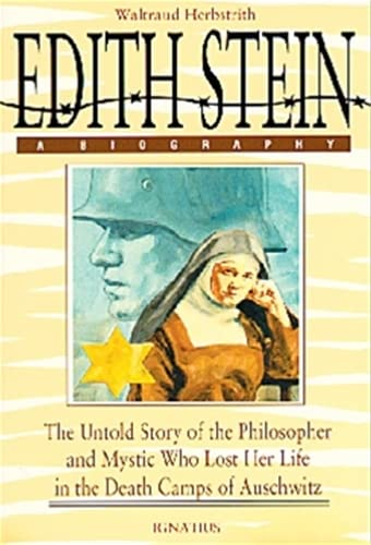 9780898704105: Edith Stein: The Untold Story of the Philosopher and Mystic Who Lost Her Life in the Death Camps of Auschwitz