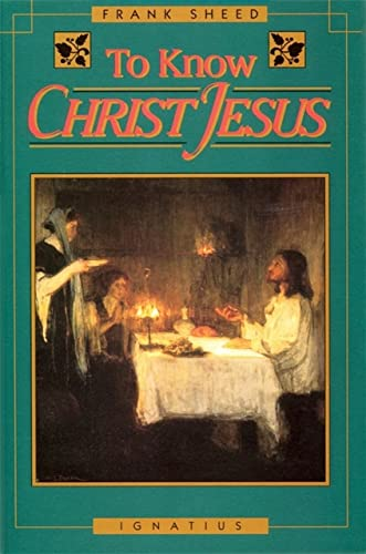 9780898704198: To Know Christ Jesus
