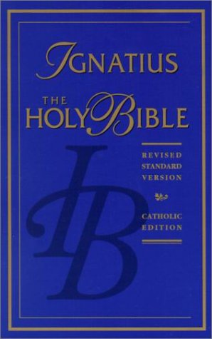 9780898704914: The Ignatius Holy Bible: Revised Standard Version, Catholic Edition