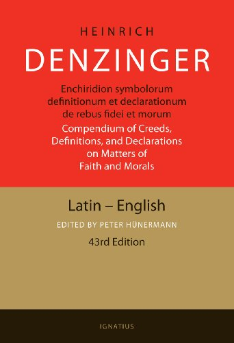 9780898707465: Enchiridion symbolorum definitionum et declarationum de rebus fidei et morum / Compendium of Creeds, Definitions, and Declarations on Matters of Faith and Morals