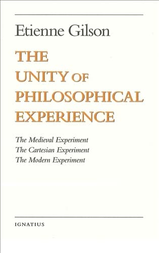 9780898707489: The Unity of Philosophical Experience