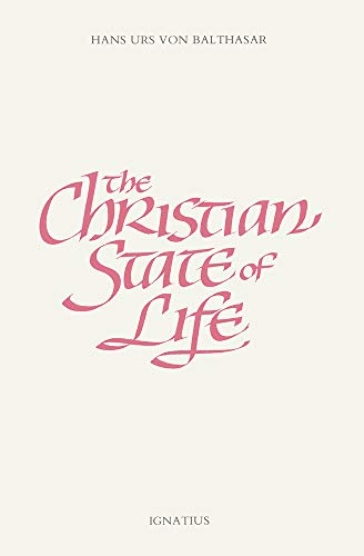 9780898707885: Christian State of Life