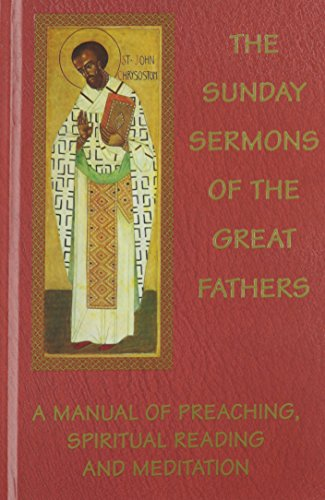 9780898707977: The Sunday Sermons of the Great Fathers (4 Volume Set)