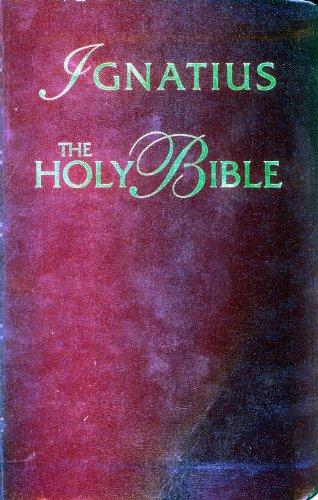 9780898708066: Ignatius Bible (RSV - Catholic Edition)