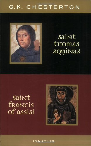 9780898709452: St. Thomas Aquinas and St. Francis of Assisi: With Introductions by Ralph McLnerny and Joseph Pearce