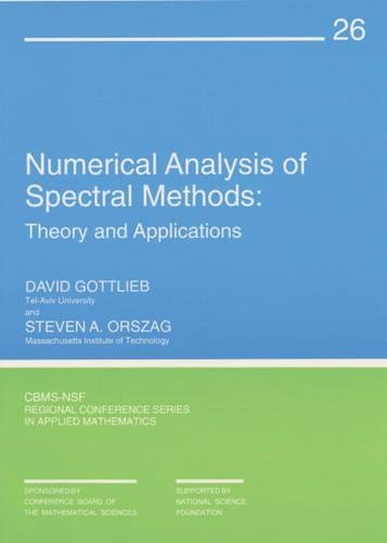 9780898710236: Numerical Analysis of Spectral Methods: Theory and Applications