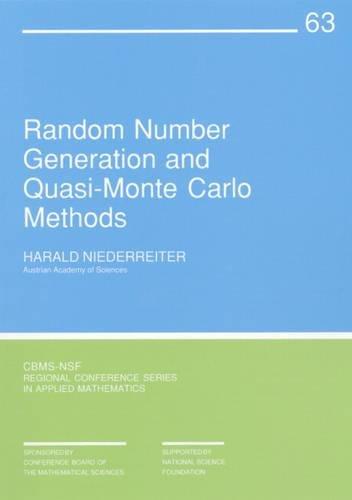 9780898712957: Random Number Generation and Quasi-Monte Carlo Methods