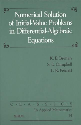 9780898713534: Numerical Solution of Initial-Value Problems in Differential-Algebraic Equations (Classics in Applied Mathematics)