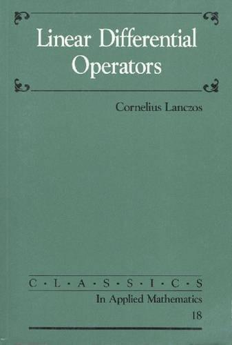 9780898713701: Linear Differential Operators (Classics in Applied Mathematics)