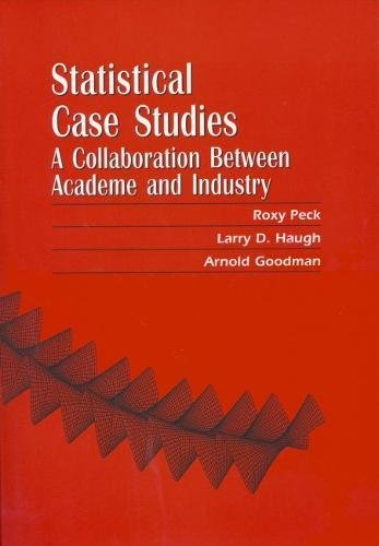 9780898714135: Statistical Case Studies Instructor Edition: A Collaboration Between Academe and Industry (ASA-SIAM Series on Statistics and Applied Probability)