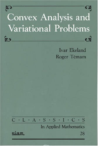 9780898714500: Convex Analysis and Variational Problems (Classics in Applied Mathematics)