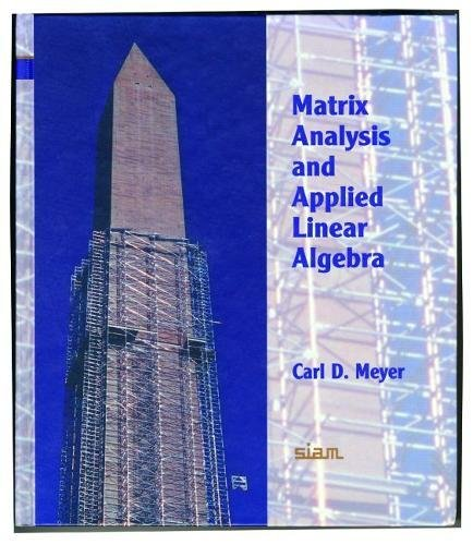 9780898714548: Matrix analysis and applied linear algebra