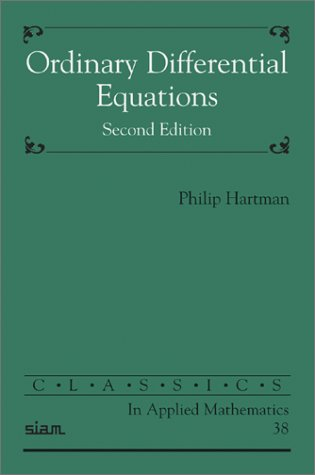 9780898715101: Ordinary Differential Equations (Classics in Applied Mathematics)