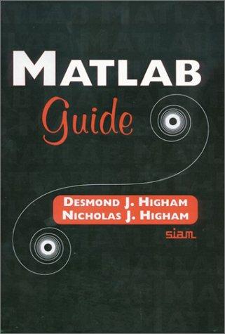 9780898715163: MATLAB Guide