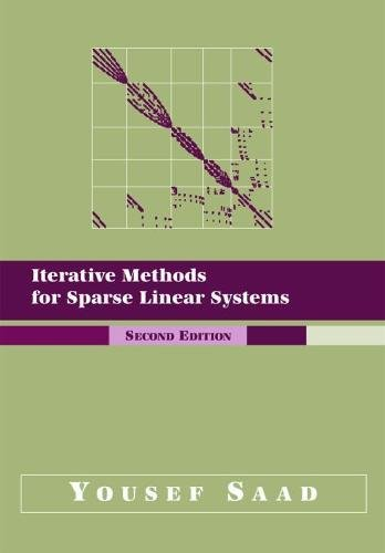 9780898715347: Iterative Methods for Sparse Linear Systems, Second Edition