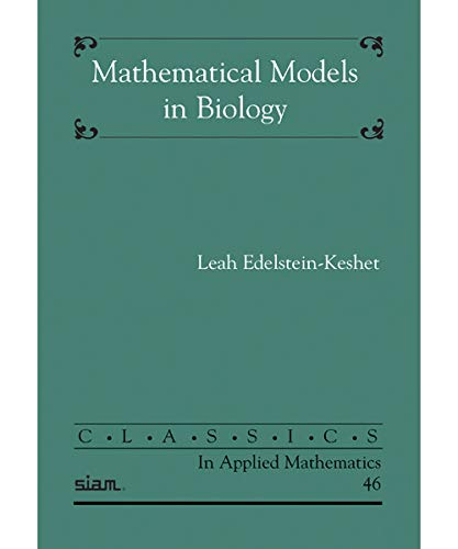 9780898715545: Mathematical Models in Biology