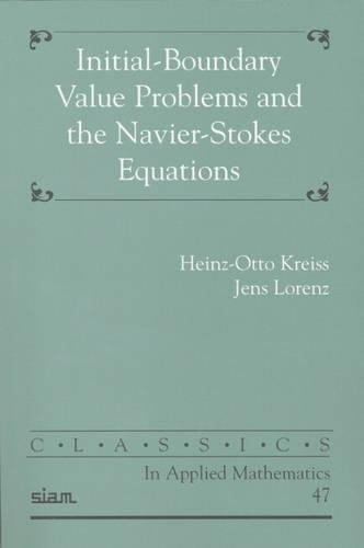9780898715651: Initial-Boundary Problems and the Navier-Stokes Equation (Classics in Applied Mathematics)