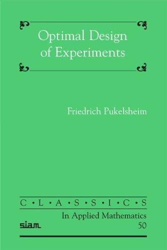 9780898716047: Optimal Design of Experiments (Classics in Applied Mathematics)
