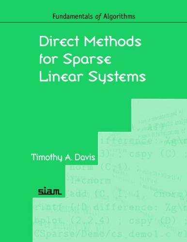 9780898716139: Direct Methods for Sparse Linear Systems