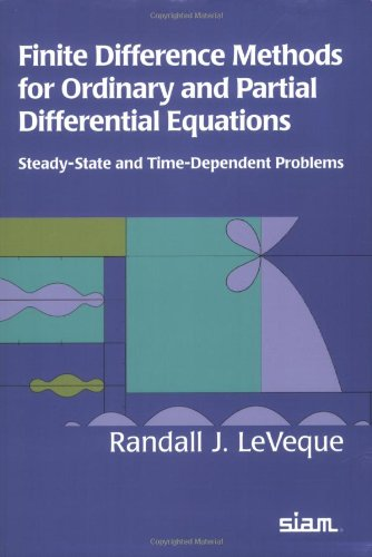 9780898716290: Finite Difference Methods for Ordinary and Partial Differential Equations: Steady-State and Time-dependent Problems
