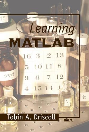 9780898716832: Learning MATLAB