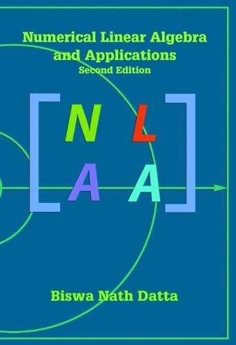 9780898716856: Numerical Linear Algebra and Applications, Second Edition