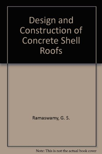 9780898740011: Design and Construction of Concrete Shell Roofs