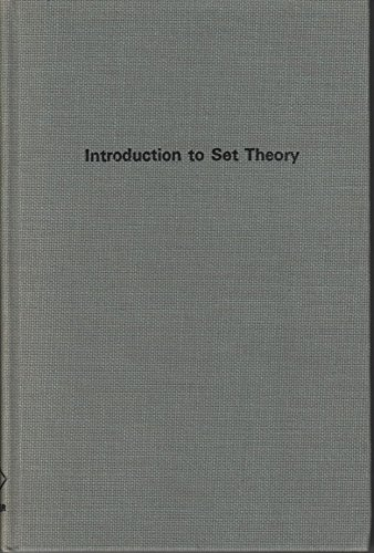 9780898740066: Introduction to Set Theory