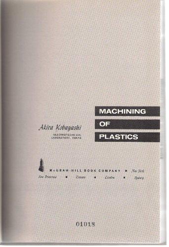 9780898740073: Machining of plastics