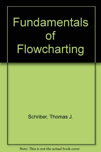 9780898740233: Fundamentals of Flowcharting